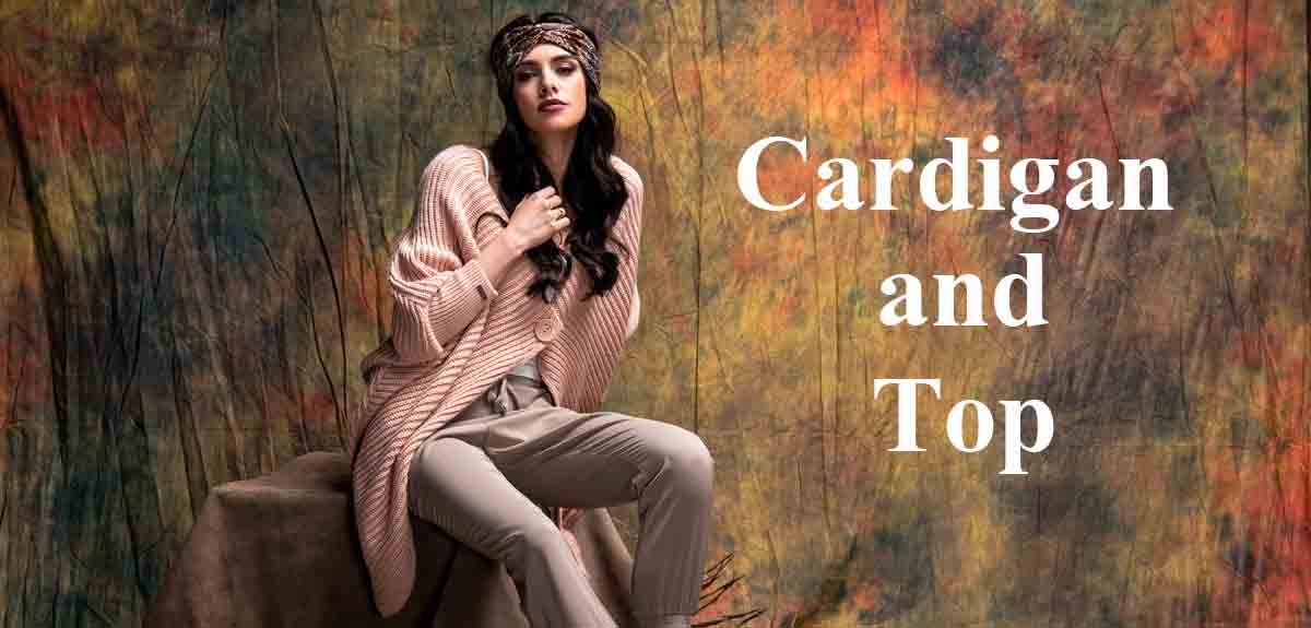 Cardigans in www.CardiganAndTop.co.uk  online fashion shop for women